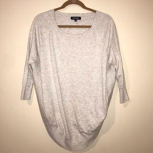 Express Circle Hem Tunic Sweater